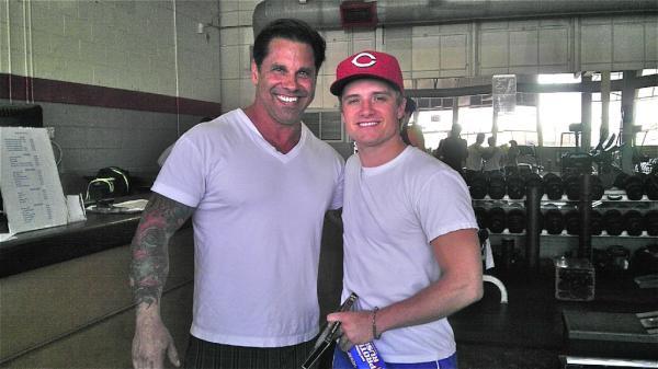 Josh et Bobby Strom.
