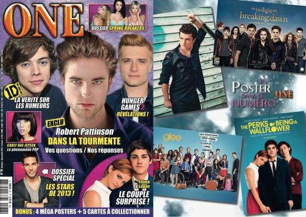 "Programme du magazine ""One""."