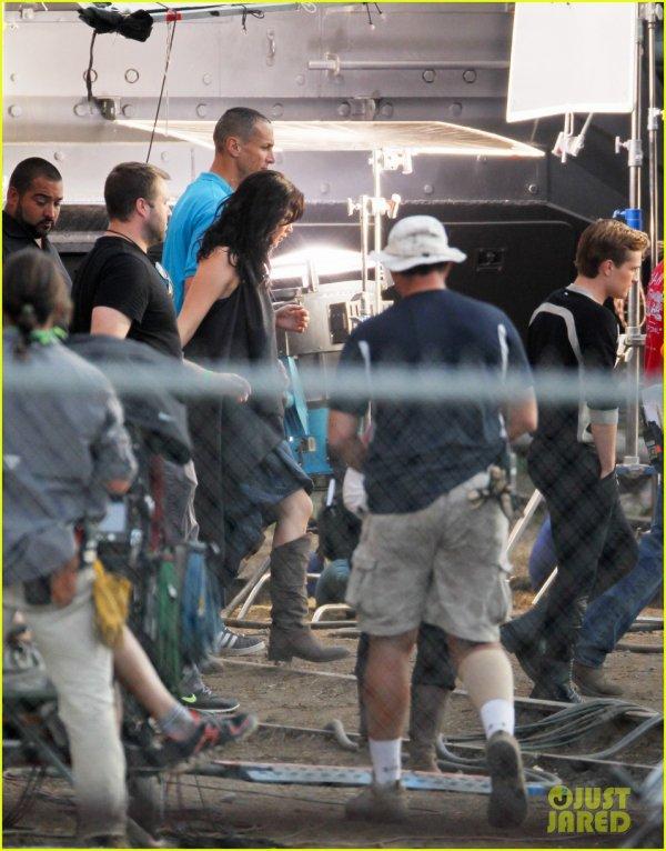 """Nouvelle photo de Josh sur tournage de """"Catching Fire"""" (Atlanta 11-10-12)."""