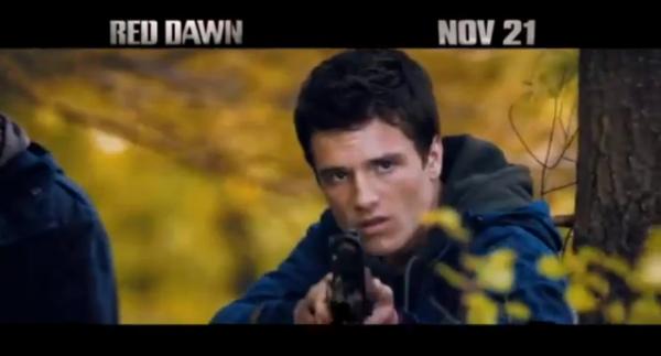 """2 Nouveaux Spots TV de """"Red Dawn""""."""