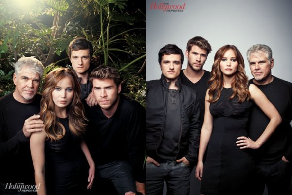 "Article Flashback : Photoshoot ""The Hollywood Reporter""."