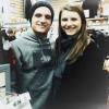 Josh avec une fan (26-12-12).
