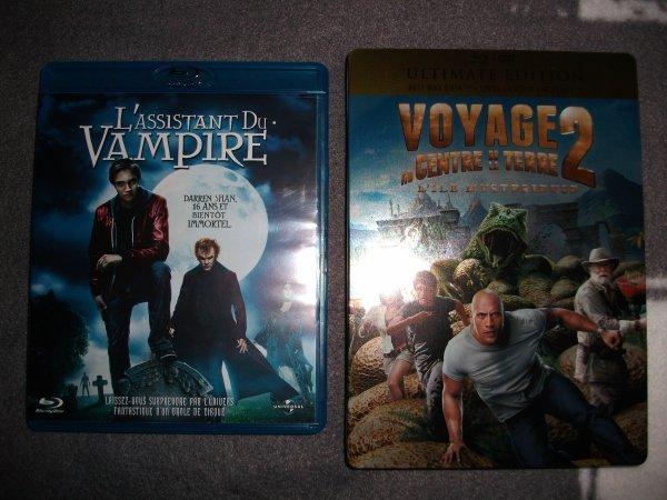 """""""The Journey 2"""" et """"L'Assistant du Vampire""""."""