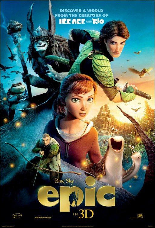 """Nouveau poster de """"Epic : la bataille du Royaume Secret""""."""