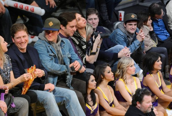 Josh au match Oklahoma City Thunder VS Los Angeles Lakers (Los Angeles 11-01-13).