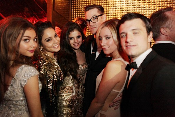 Josh à la Weinstein Company Golden Globe After Party (Los Angeles 13-01-13).
