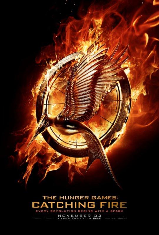 "Premier poster teaser officiel de ""Catching Fire"" (HD)."