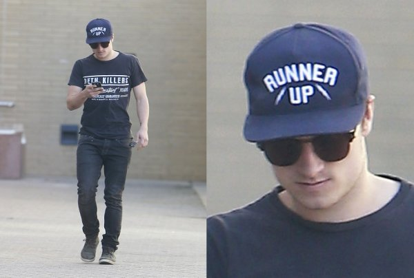 Josh à West Hollywood (18-01-13)