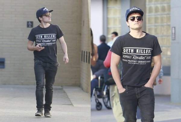 Josh à West Hollywood (18-01-13)