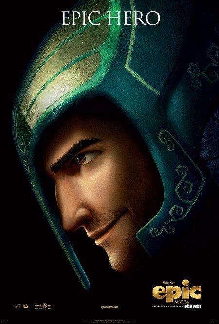 """Affiche du personnage de Josh dans """"Epic : la bataille du Royaume Secret""""."""