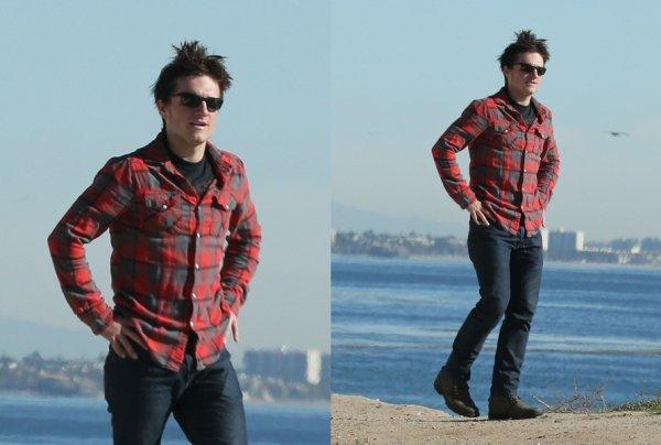 Josh en balade à Malibu (20-01-13) part 1.