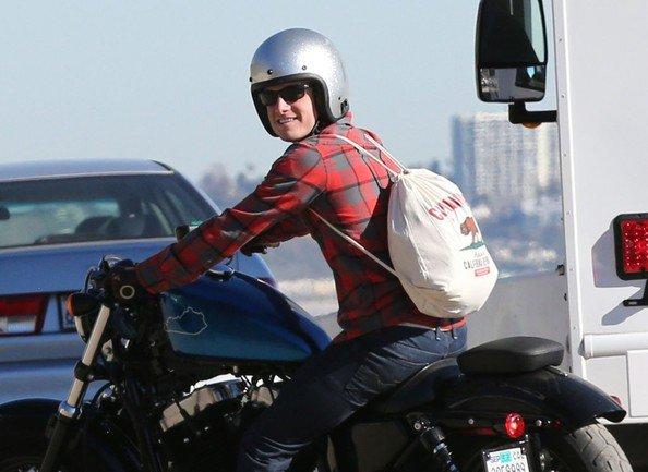 Josh en balade à Malibu (20-01-13) part 2.