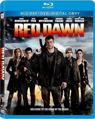 """Sortie en DVD/Blu-ray de """"Red Dawn""""."""