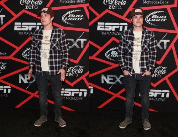 """Josh au """" ESPN The Magazine's Next Event"""" (Nouvelle Orléans 01-02-13)."""