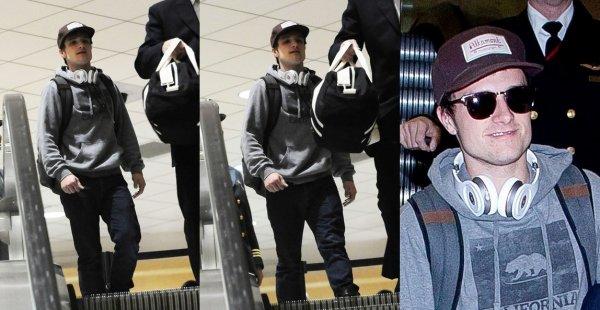 Josh à LAX Airport (Los Angeles 04-02-13).