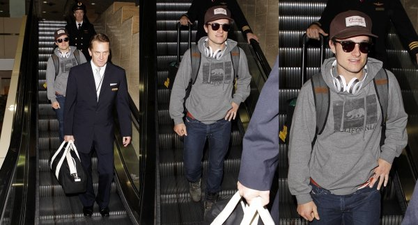Nouvelles photos de Josh à LAX Airport (Los Angeles 04-02-13).