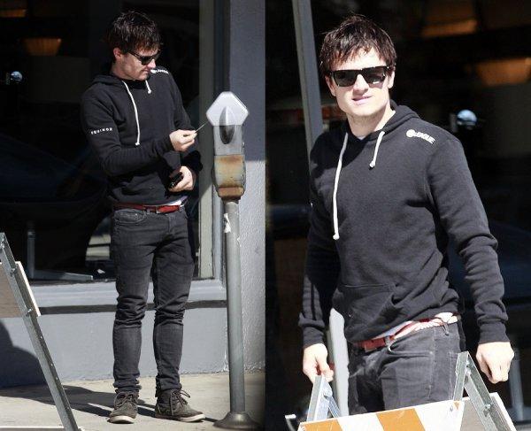 Josh à Los Angeles (20-02-13).