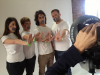 Premier aperçu du photoshoot pour la Campagne NOH8 - Straight But Not Narrow.