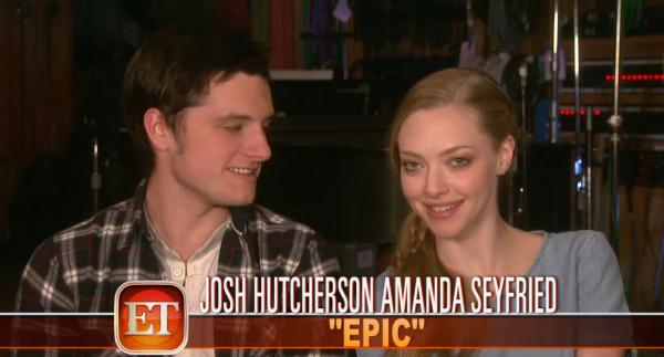 """Josh et Amanda présentent un tout nouveau trailer de """"Epic : la Bataille du Royaume Secret""""."""