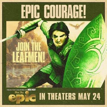 """Nouvelle image promotionnelle de Nod """"Epic : La Bataille du Royaume Secret""""."""