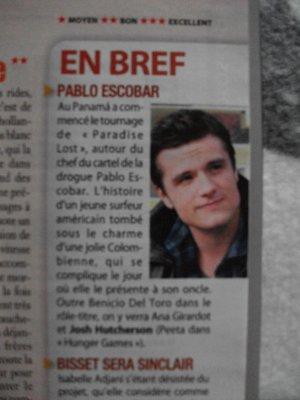 """Petit article sur """"Padise Lost"""" dans le """"Ciné Télé Revue"""" (Magazine belge)."""