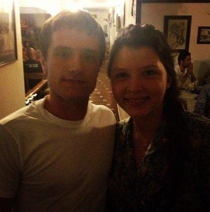 Josh avec des fans au Panama (08-04-13).