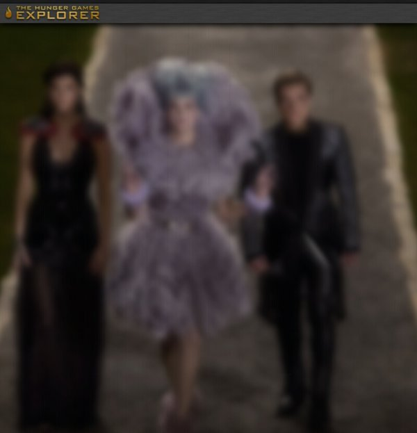 "Petit indice sur la prochaine photo de ""Catching Fire""."