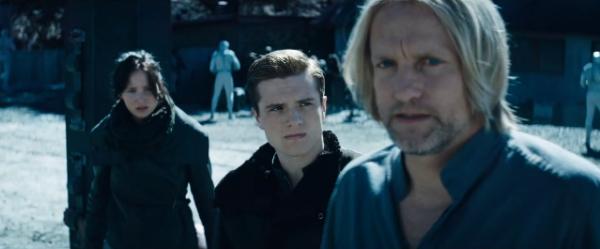 """Captures de Josh dans le trailer de """"Catching Fire"""" (réalisées par mes soins)."""