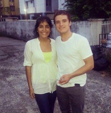 Nouvelles photos de Josh avec des fans au Panama.