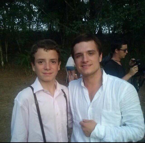 """Nouvelles photos de Josh sur le tournage de """"Paradise Lost"""" (Panama)."""