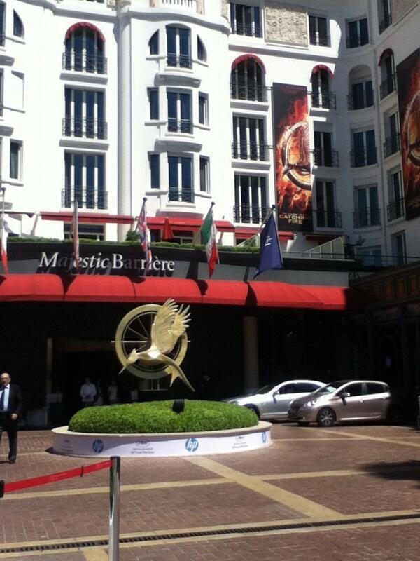 """Catching Fire"" à Cannes."