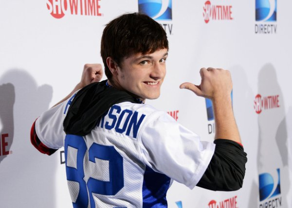 """Josh dans le classement des """"23 Célébrités de moins de 21 ans les plus cools""""."""