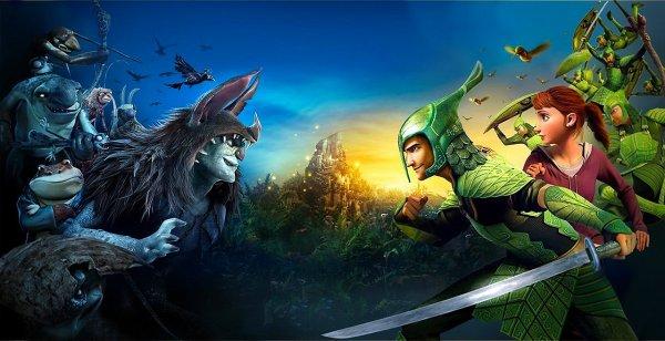 """Nouvelle bannière de """"Epic : la bataille du Royaume Secret""""."""