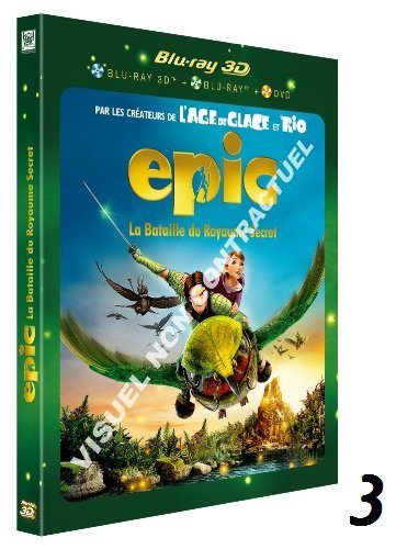 """Epic : La Bataille du Royaume Secret"" disponible en pré-commande sur Amazon."