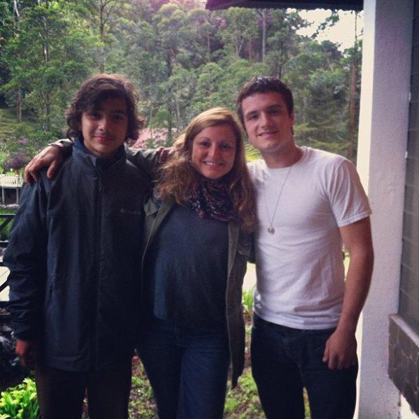 Nouvelles photos de Josh au Panama.