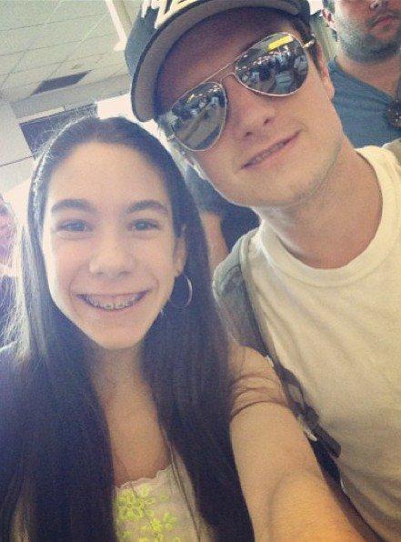 Josh (bientôt) de retour à L.A (13-06-2013).