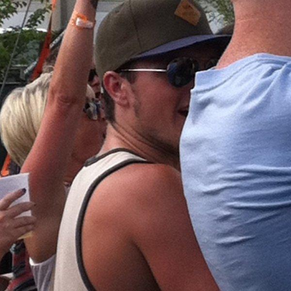 Josh au Festival de musique Burnbury Jour 1 (Cincinnati, Ohio 12-07-2013).