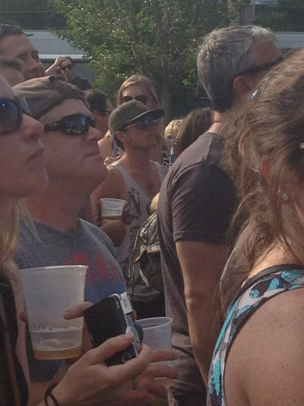 Josh au Festival de musique Burnbury Jour 2 (Cincinnati, Ohio 13-07-2013).