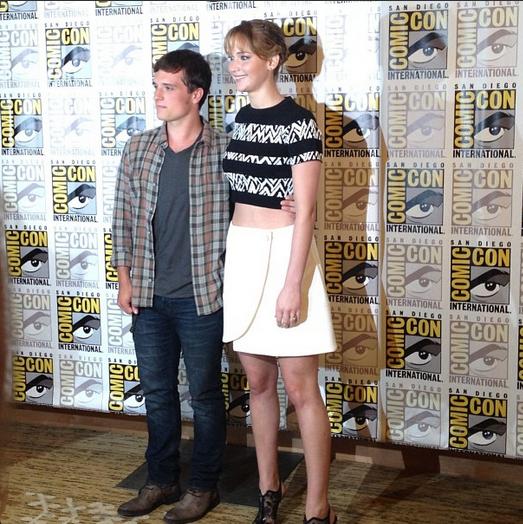 Premières photos de Josh au Comic-Con de San Diego (20-07-2013).