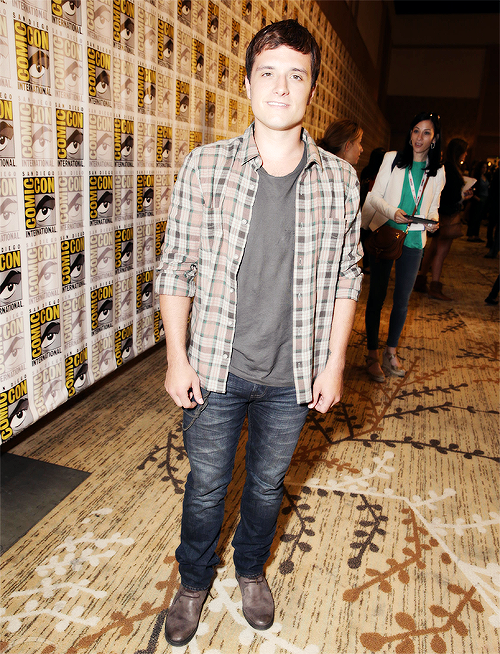 Photos de Josh au Comic-Con de San Diego (20-07-2013).