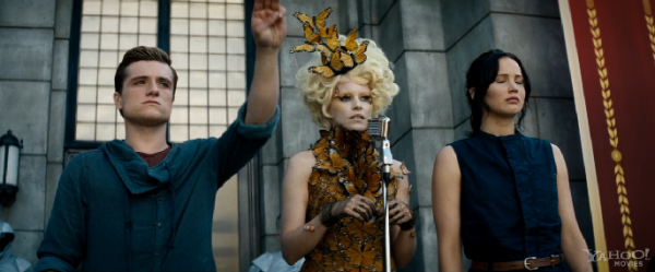 "Nouveau trailer ""Catching Fire"" + captures."