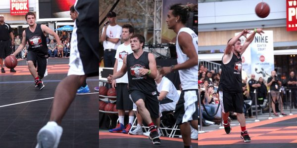 "Josh au ""5th Annual Nike Basketball 3ON3 Tournament"" (09-08-2013)."