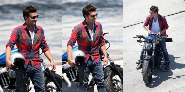 Josh pose pour un photoshoot (Los Angeles 13-08-2013) Partie 1.