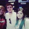 Nouvelle photo de Josh avec des fans à Madrid (22-08-2013).