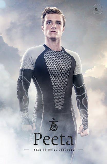 Capitol Couture révèle une nouvelle version du poster de Peeta.