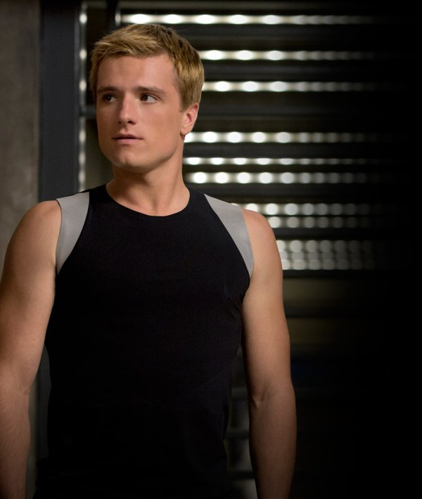 "New still de Peeta dans ""Catching Fire""."