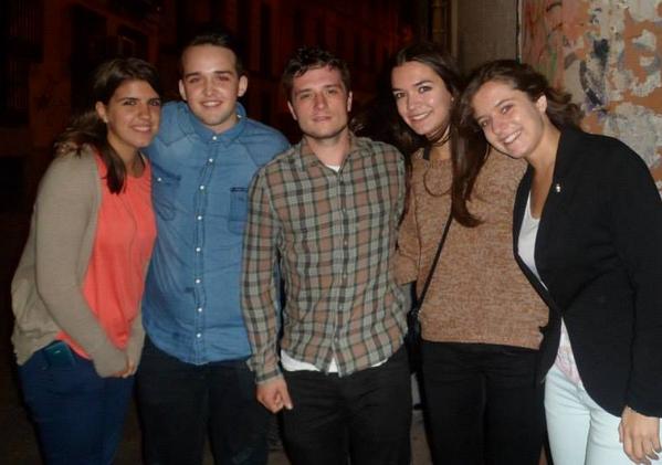 Josh à Madrid (30-09-2013).
