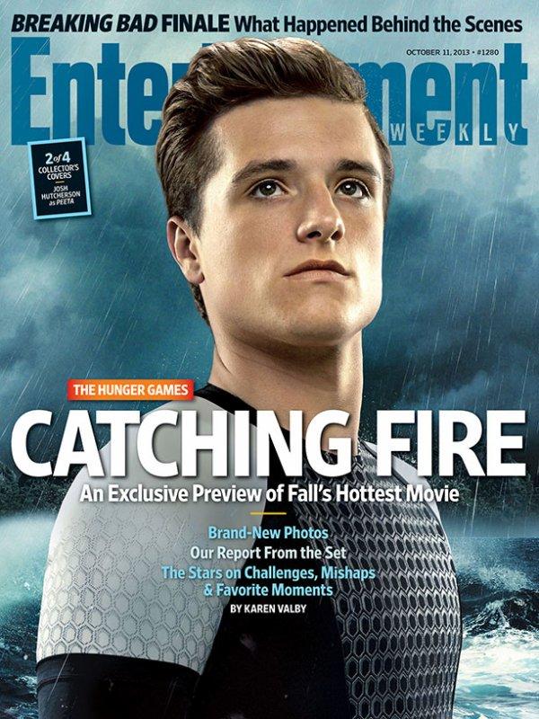 """Couverture du """"EW"""" spécial """"Catching Fire""""."""