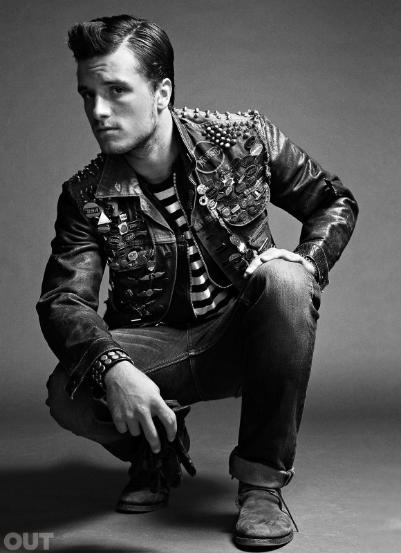 "Josh pour ""OUT Magazine"" (Novembre 2013)."