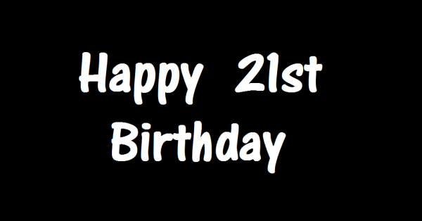 ♥ Happy 21st Birthday Josh ♥